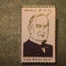 William McKinley lapel pins stamp pin tie tac hat 2218f S
