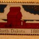 North Dakota Stamp Pin collectible lapel pins 2403 S