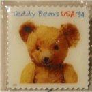 Teddy Bear Gund Stamp pin lapel pins hat tie tac 3655 S