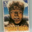Lon Chaney Jr. Wolf Man stamp pin lapel pins hat 3172  S