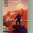 Space Discovery III NASA metal Stamp pin lapel hat 3240 S