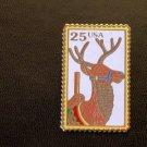 Carousel Deer Stamp Pin cloisonne hat lapel pins 2390 S