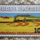 Locomotive Kansas Wheat stamp pin lapel hat  1506 S