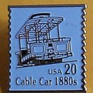 San Francisco Cable Car stamp pin lapel pins hat 2263 S