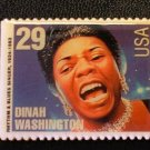 Dinah Washington stamp magnet Black History 2730mg