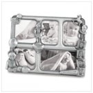 Pewter Baby Collage Frame
