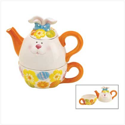 CHUBBY BUNNY TEA-FOR-ONE