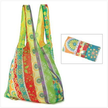 COUNTRY FLORAL REUSABLE TOTE