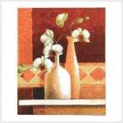 Orchid Vase Canvas Print