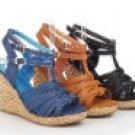 women's succinct wedge heels sandal/shoes