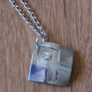 Runic Symbol Othala Fine Silver Pendant Handcrafted One of a Kind Handmade Men Women