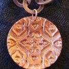 Copper Pendant with Unique Texture