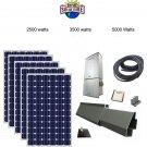 Solar Panel Kit in a Box  2500 watts grid- tied