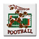 SCIENCE OF FOOTBALL  tile coasters