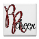 PR CHEER {3}  tile coasters