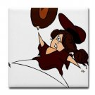 OUTFIELDER *softball* {1}  tile coasters