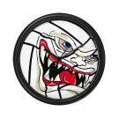 VICIOUS VOLLEYBALL | wall clock