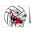 VICIOUS VOLLEYBALL | note cards -10pk-