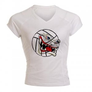 VICIOUS VOLLEYBALL   women's performance tee