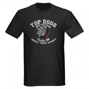 TOP DOGS [4] | men's dark tee