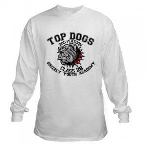 TOP DOGS [4]   men's long sleeve tee