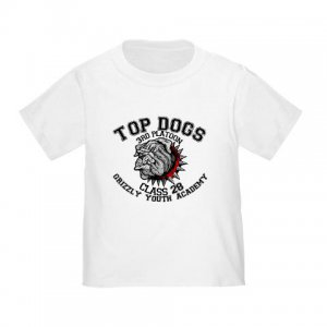TOP DOGS [4]   toddler tee