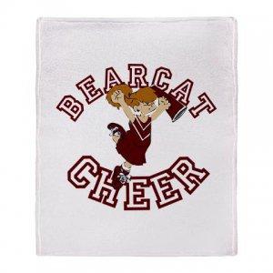 BEARCAT CHEER [8] | stadium blanket