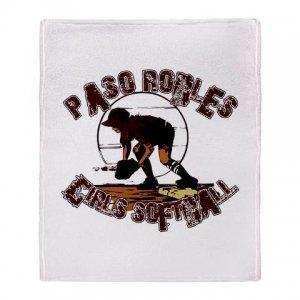 PASO ROBLES GIRLS SOFTBALL [7]   stadium blanket