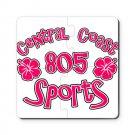 805 SPORTS LOGO [hibiscus 1] | puzzle coasters