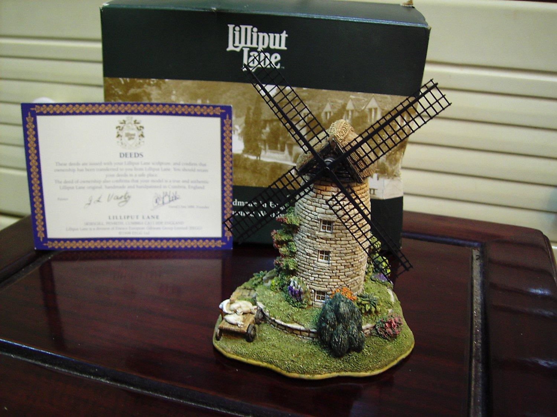 LILLIPUT LANE - England handmade decorative building miniature - Windmill