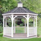 Garden Classic Gazebo Project Plans, Design #10012