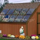 10' X 8' Garden Greenhouse Project Plans, Design #41008