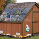 8' X 8' Garden Greenhouse Project Plans, Design #40808
