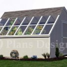 10' x 14' Backyard Garden Greenhouse Project Plans, Design #41014