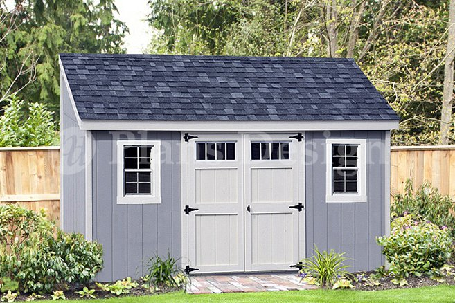 Deluxe Lean To Shed Plans For 6 Ft X 14 Ft Building