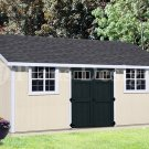 How To Build Storage Shed,10' x 20' Lean To Roof Style, Design #D1020L