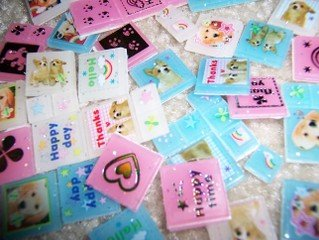 Doggie Block stickers