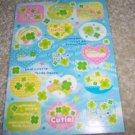 Soft Breeze Clover Sticker Sheet