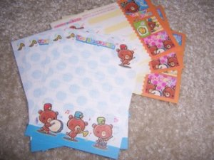 Band Bear Mini Memos