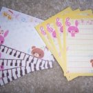 Music Animals Mini Memos