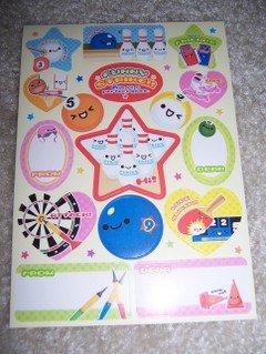 Funny Strike Sticker Sheet