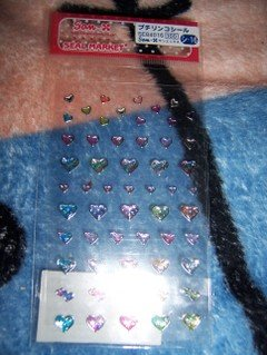 Hearts Sticker Sheet