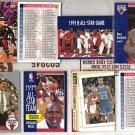 MICHAEL JORDAN (6) Lot w/ (2) Phil Jackson early 90's