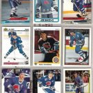JOE SAKIC (9) Card Lot w/ 1990 UD + Topps, Team 2000++