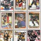 BRYAN TROTTIER (9) Card Lot w/ (2) 1984s, 90 Topps+++,