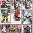JOCELYN THIBAULT (9) Card Lot w/ RC's, 02 UD Top Shelf+
