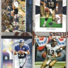 (4)  KURT WARNER Premium Cards w/ 2003 UD Patch Collection+++