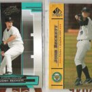 JOSH BECKETT (2) Card Lot - 2005 Absolute + 2001 UD Prospects