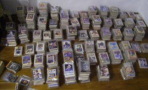 (5000+) 4-SPORT Card Collection of HOF + STARS A to Z mostly Baseball + Football