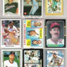 BERT BLYLEVEN (9) Card Lot w/ 80's, 90's + odds